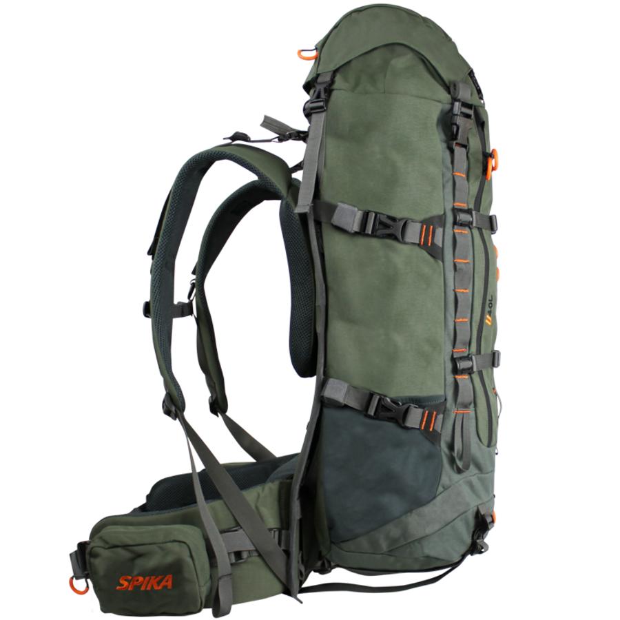 ANC644-SPIKA DROVER HAULER PACK + HAULER FRAME – OLIVE – 40L