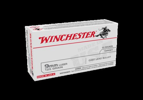 SLAB-WIN068-WINCHESTER USA VALUE PACK 9MM 125GR LRN 500RNDS