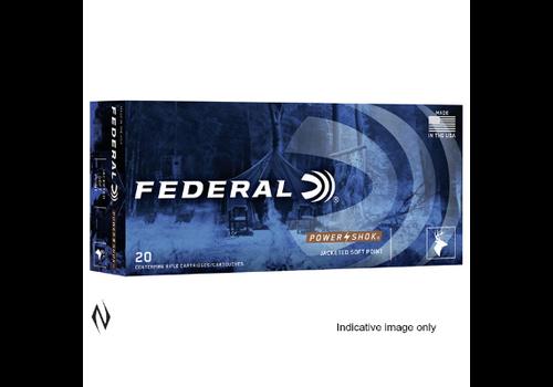 NIO1573-FEDERAL POWER SHOK 338WM 225GR SP 20RNDS