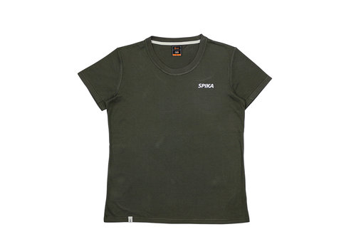 SPIKA GO CASUAL T-SHIRT WOMENS-OLIVE