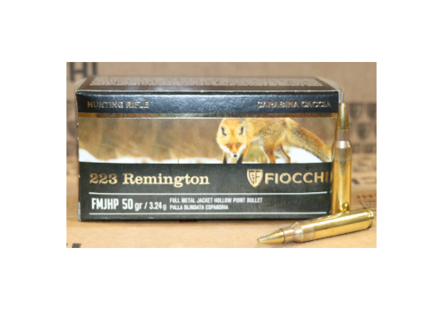TAS312-FIOCCHI 223 REM 50GR HP 50RNDS