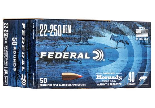 NIO1572-FEDERAL 22-250 REM 40GR VMAX 50RNDS