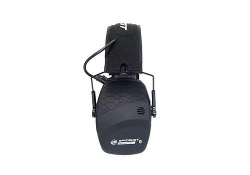 XHU001-EPICSHOT ELECTRONIC SHOOTING EARMUFFS - WITH BLUETOOTH 22DB NRR NOISE REDUCTION #EXPLORER PRO