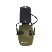 XHU002-EPICSHOT ELECTRONIC SAFETY SHOOTING EARMUFFS - 22DB NRR OLIVE GR #EXPLORER+