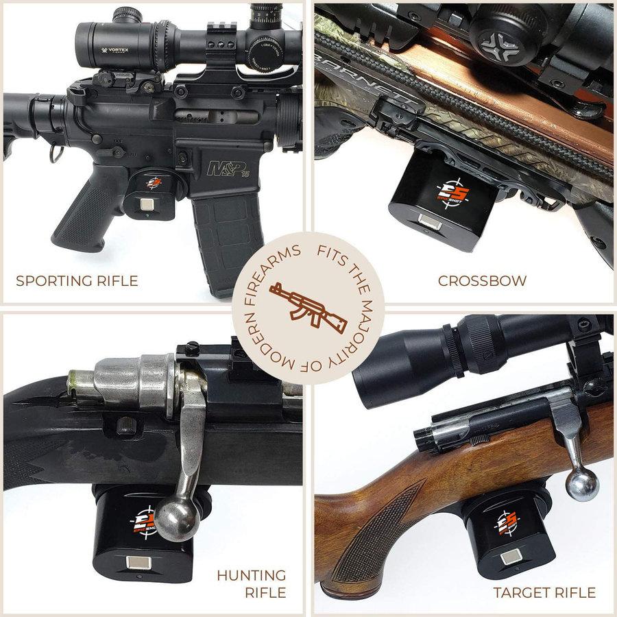 XHU003-EPICSHOT TRIGGER LOCK FOR RIFLE PISTOL HANDGUN SHOTGUN - BIOMETRIC FINGERPRINT #ES00579