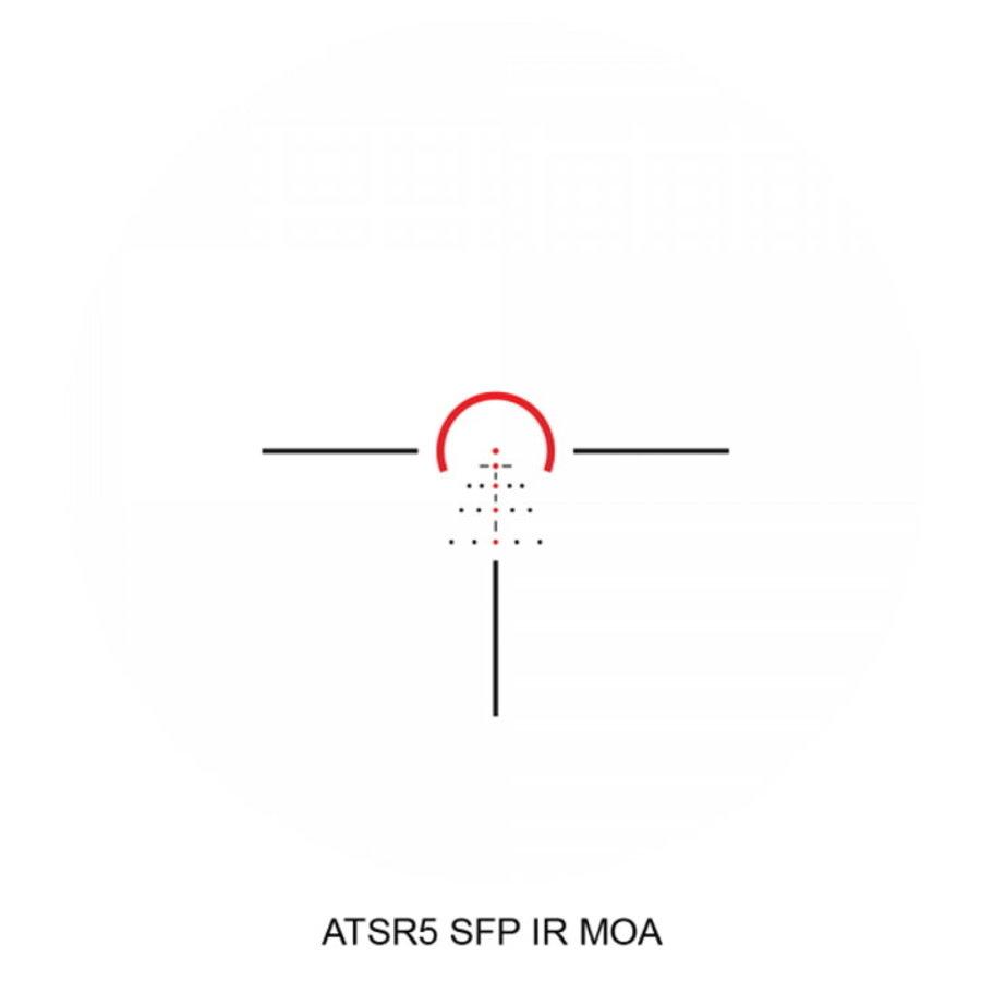 CRK070-ATHLON ARGOS BTR GEN 2 1-8X24 ATSR5 IR SFP ILLUMINATED BDC 30MM RIFLESCOPE
