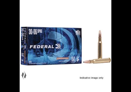 NIO1266-FEDERAL 30-06 SPR 220GR RN POWER-SHOK 20RNDS