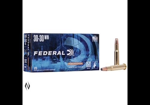 NIO1267-FEDERAL POWER-SHOK 30-30 WIN 150GR FN 20RNDS