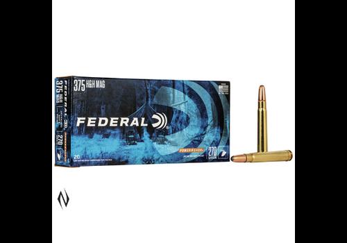 NIO1268-FEDERAL POWER-SHOK 375 H&H 270GR SP 20RNDS