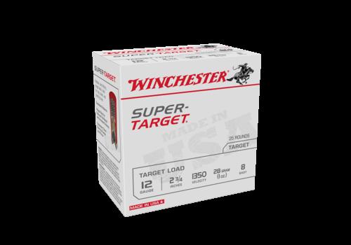 WIN1101-WINCHESTER SUPER TARGET 12G 28GM #8 1350FPS 25RNDS