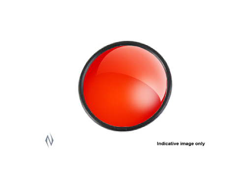 """NIO1342-POWA BEAM 145MM 5.75"""" RED GLASS LENS ONLY"""