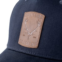 HUE966-HUNTERS ELEMENT RED STAG CAP NAVY