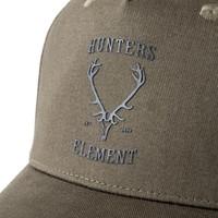 HUE977-HUNTERS ELEMENT OTAGO CAP MOSS GREEN