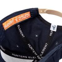 HUE980-HUNTERS ELEMENT BORN HUNTER CAP KIDS NAVY