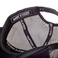 HUE971-HUNTERS ELEMENT FARRANT TRUCKER CAP BLACK