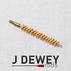 "J.DEWEY SJS094-J Dewey ""No Harm"" Bronze Bristle Brushes (.338 cal)"