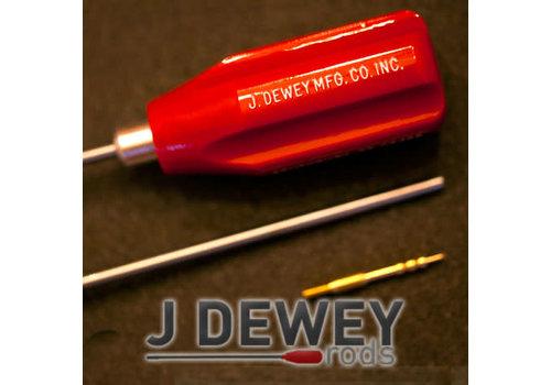 "SJS064-Dewey .17-.20cal Stainless Steel Rods (36"" Rifle)"