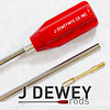 "J.DEWEY SJS052-Dewey Deluxe 1 Piece Stainless Steel Rods (44"" Rod all cal. Rifle)"