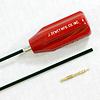 "J.DEWEY SJS060-Dewey Nylon Coated Rod (.27 & up Rifle 36"" with .30 Jag & Brush Adapter"