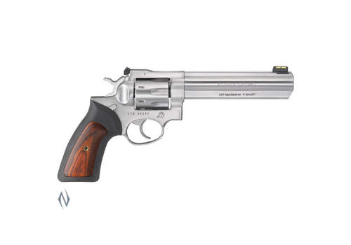 NIO310-RUGER GP100 357 STAINLESS 150MM 7 SHOT