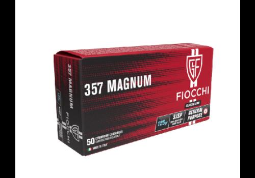 TAS851-FIOCCHI 357 Magnum 125GR SJSP 50RNDS