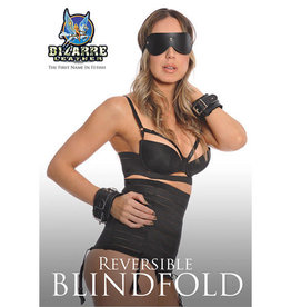 Bizarre Leather Bizarre Leather: Reversable Blindfold RED/Black