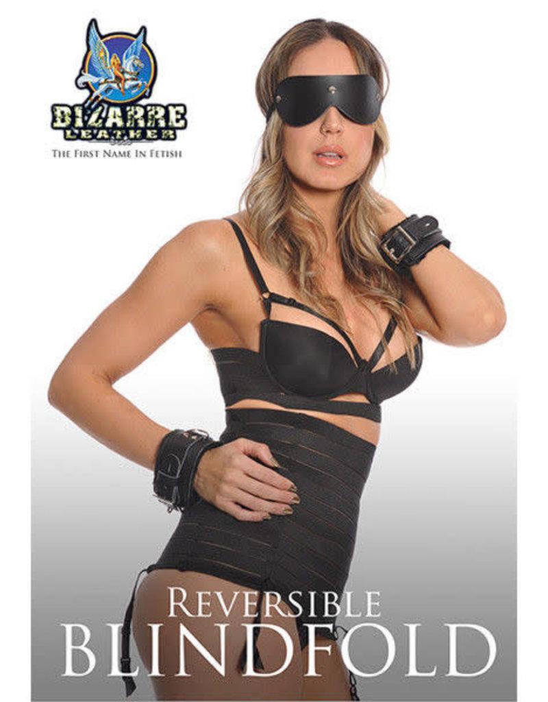 Bizarre Leather Bizarre Leather: Reversable Blindfold RED/Black