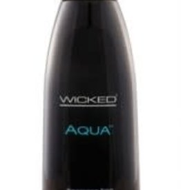 Wicked Aqua Water-Based Lubricant - 4 oz.