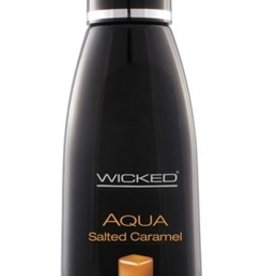 Wicked Aqua Salted Caramel Water-Based Libricant - 4 oz.