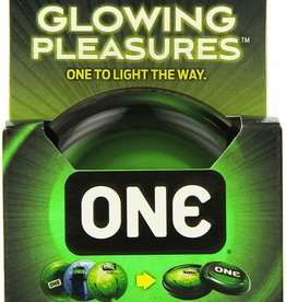 One Condoms ONE Glowing Pleasures Condoms - Box of 3