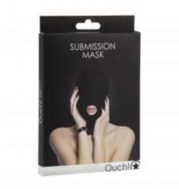 Shots Ouch! Submission Mask - Black