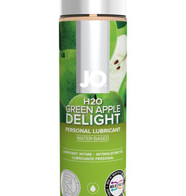 System Jo Jo H2O Flavored Lube Green Apple 4 Ounce