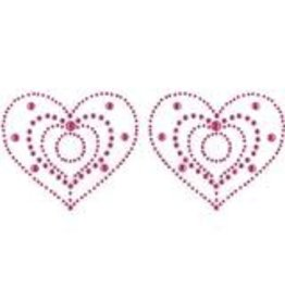 Eye Candy CRYSTAL HEART - PINK