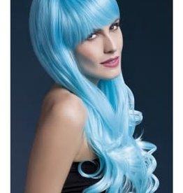 FEVER LINGERIE Emily Wig 2 Tone Blue