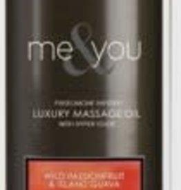 SENSUVA Me and You Massage Oil - Wild Passionfruit and Island Guava - 4.2 Oz.
