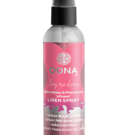 DONA BY JO Dona Aphrodisiac & Pheromone Infused Linen Spray Flirty Blushing Berry 4 Ounce