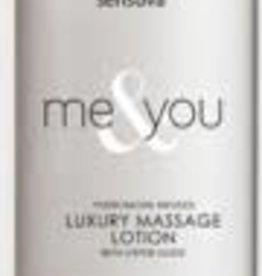 SENSUVA Me and You Massage Lotion - Lavender Vanilla - 4.2 Oz.