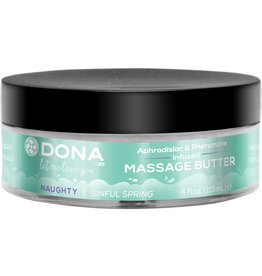 DONA BY JO Dona Aphrodisiac & Pheromone Infused Massage Butter Naughty Sinful Spring 4 Ounce