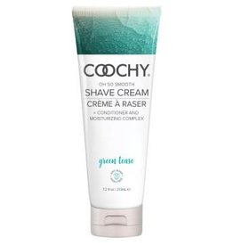 COOCHY OH SO SMOOTH Coochy Shave Cream - Green Tease - 7.2 Oz
