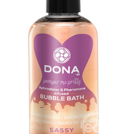 DONA BY JO Dona Aphrodisiac & Pheromone Infused Bubble Bath Sassy Tropical Tease 8 Ounce