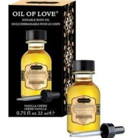Kamasutra Oil of Love - Vanilla Creme - 0.75 Fl. Oz. / 22 ml