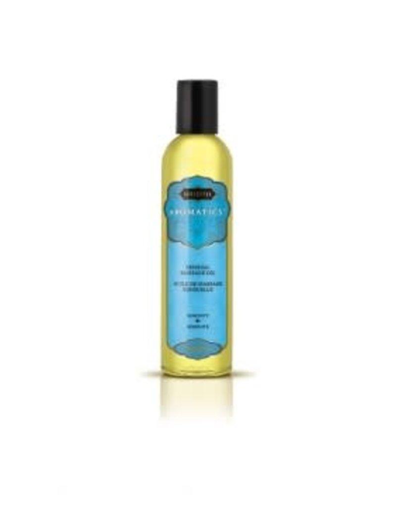 Kamasutra Aromatics Massage Oil - Serenity - 2 Fl Oz