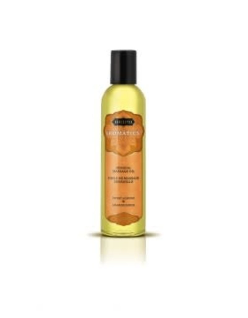 Kamasutra Aromatics Massage Oil - Sweet Almond - 2 Fl Oz