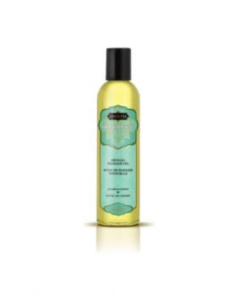 Kamasutra Aromatics Massage Oil - Soaring Spirit - 2 Fl Oz