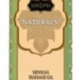 Kamasutra Naturals Massage Oil - Vanilla Sandalwood 8 Fl. Oz.