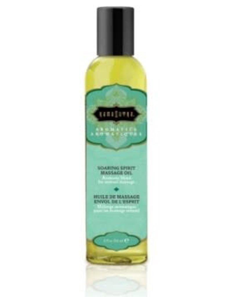 Kamasutra Aromatic Massage Oil - Soaring Spirit 8 Fl Oz