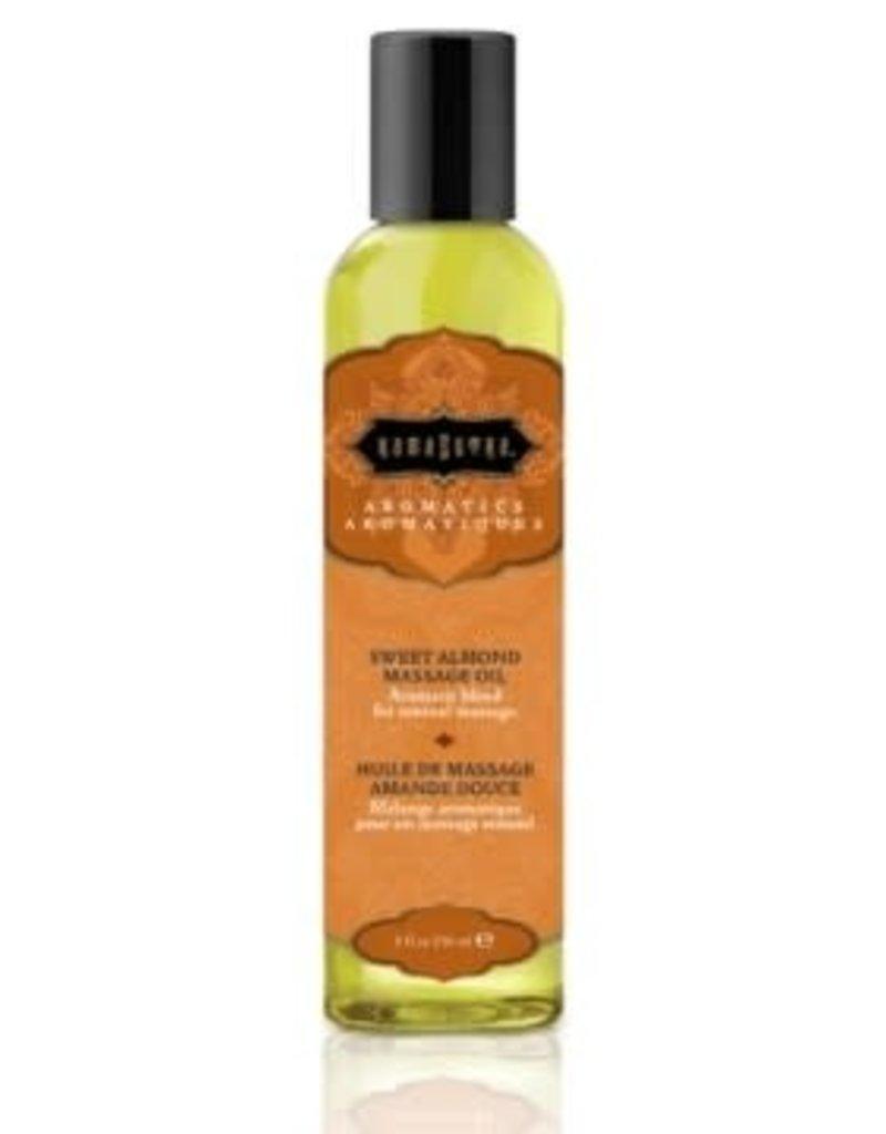 Kamasutra Aromatic Massage Oil - Sweet Almond - 8 Fl. Oz.