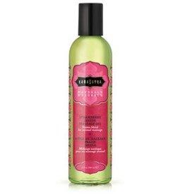 Kamasutra Naturals Massage Oil - Strawberry DREAMS 8 Fl Oz