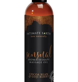 Intimate Earth Intimate Earth Sensual Aromatherapy Massage Oil Cocoa Bean & Goji Berry 4 Ounce