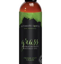Intimate Earth Intimate Earth Aromatherapy Massage Oil Fresh Cut Grass 4 Ounces
